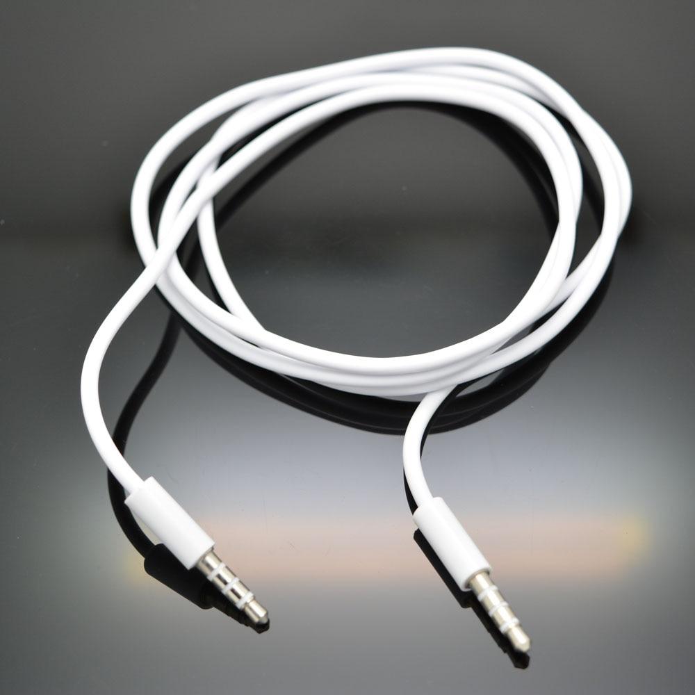 Ekstensi audio male to male empat bagian 3.5mm plug kabel audio mobil - Aksesori dan suku cadang ponsel - Foto 4