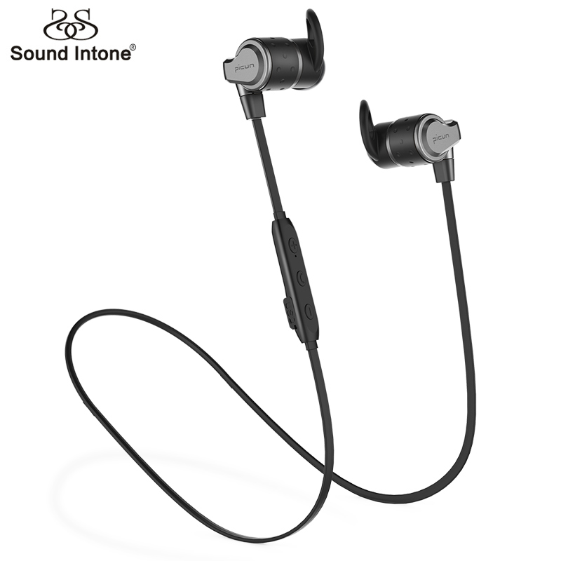 Sound Intone H16 Double Battery Bluetooth Earphone Sport Running With Mic Wireless Earphones Bass Headsets For iPhone For Xiaomi sound intone h6s wireless earphones in ear headsets sports running music bluetooth earphone with microphone for sony xiaomi mp3
