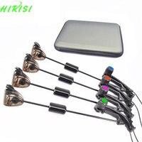 Fishing Swinger Bite Alarms Indicator Set Electronic Illuminated 4pcs In Eva Case Carp Coarse Fishing Tackle
