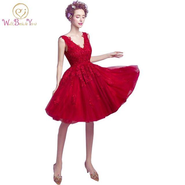 Borgogna Vestito Reali Da Rosso Immagini Merletto 100 Cocktail Del xfPIYS