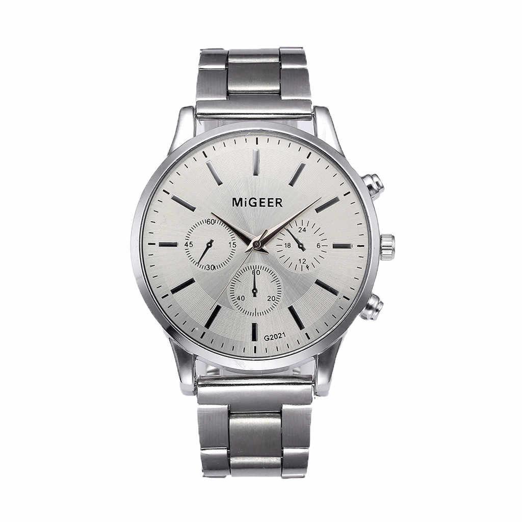 Luxury แฟชั่นผู้ชายคริสตัลสแตนเลสสตีลนาฬิกาข้อมือควอตซ์ Montre Zegarek Damski ขายร้อน #10