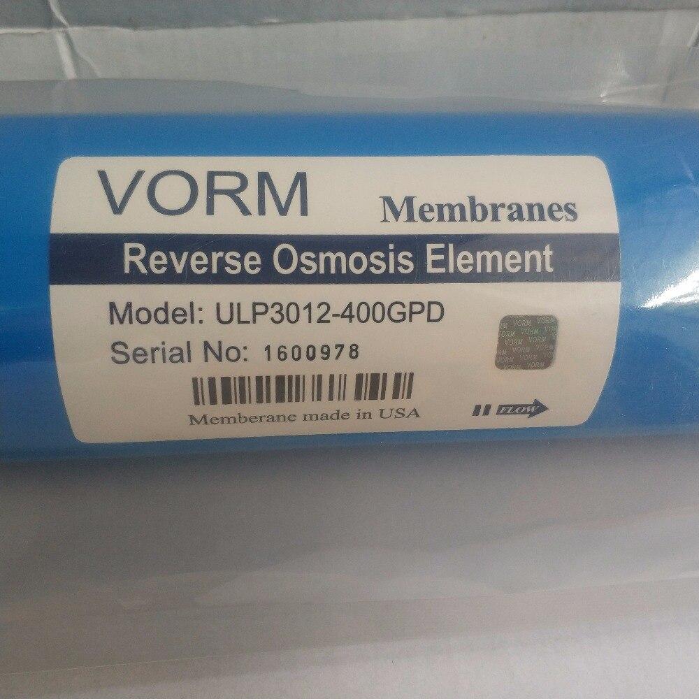 400 gpd кухонный фильтр для очистки воды VORM ULP3012-400 мембрана фильтры для воды картриджи мембрана