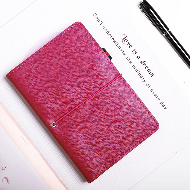 Yiwi Free Logo Custom Genuine Leather A6 Personal Bind