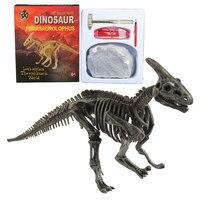 Dinosaur Excavation Kit Archaeology Dig Up Fossil Skeleton Fun Kids Toy Gift