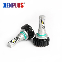 2Pcs HB4 H1 H3 H4 H7 H11 9006 HB3 9005 LED Car Light 12V Auto Headlight
