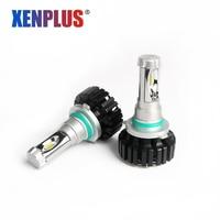 2Pcs HB4 H1 H3 H4 H7 H11 9006 HB3 9005 LED Car Light 12V Auto Headlight