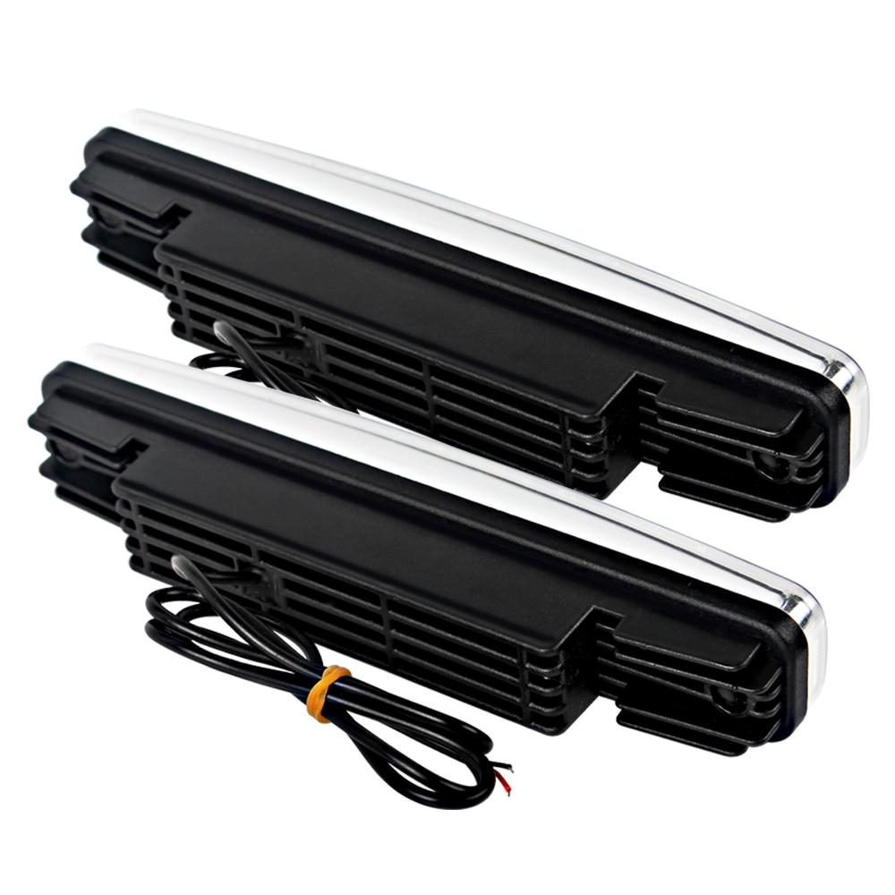1 par LED-bil Körningsljus DRL Super Bright 5 LEDs Universal - Bilbelysning - Foto 3