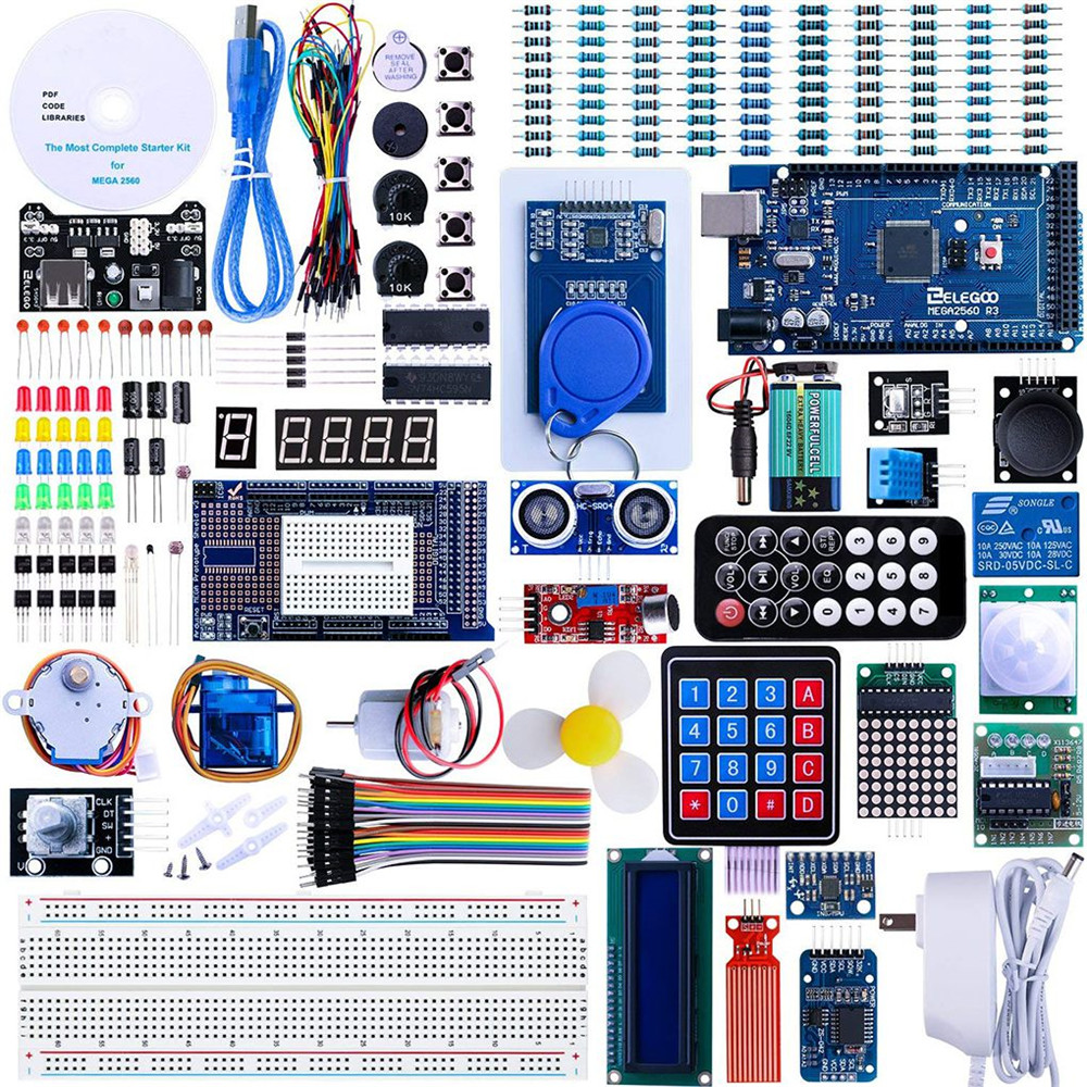 US $42 35 49% OFF|Emulator LCD1602 Module Project Complete Ultimate Starter  Kit w/Tutorial Compatible for Arduino UNO r3 Emulator -in Instrument Parts