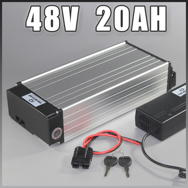 electric bike battery 48v 20ah Samsung ebike Battery Rear rack lithium ion with 1000W BMS EU US NO TAX