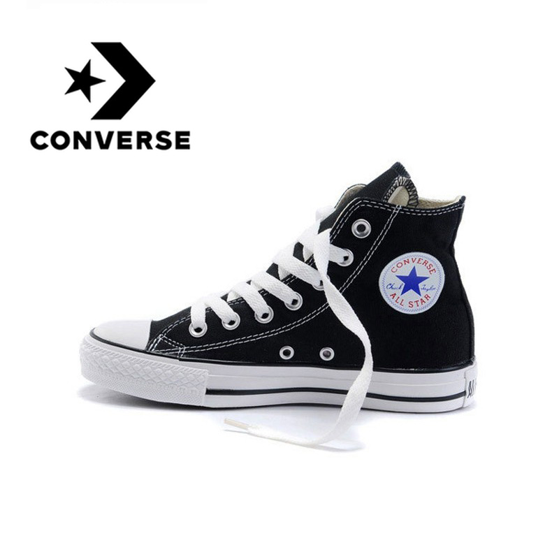 Converse Skateboarding chaussures Original classique unisexe toile Top Anti-glissant Sneaksers confortable Falt chaussures lumineuses 102307