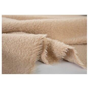 Laine Fabric à Vendre | 18 Hiver Nouvelle Laine/cachemire Tissu Pour Femmes Manteau 145 Cm Large Solide Couleur Mode Tissu Pour Bricolage Couture Vente Chaude Haute Qualité Tissu