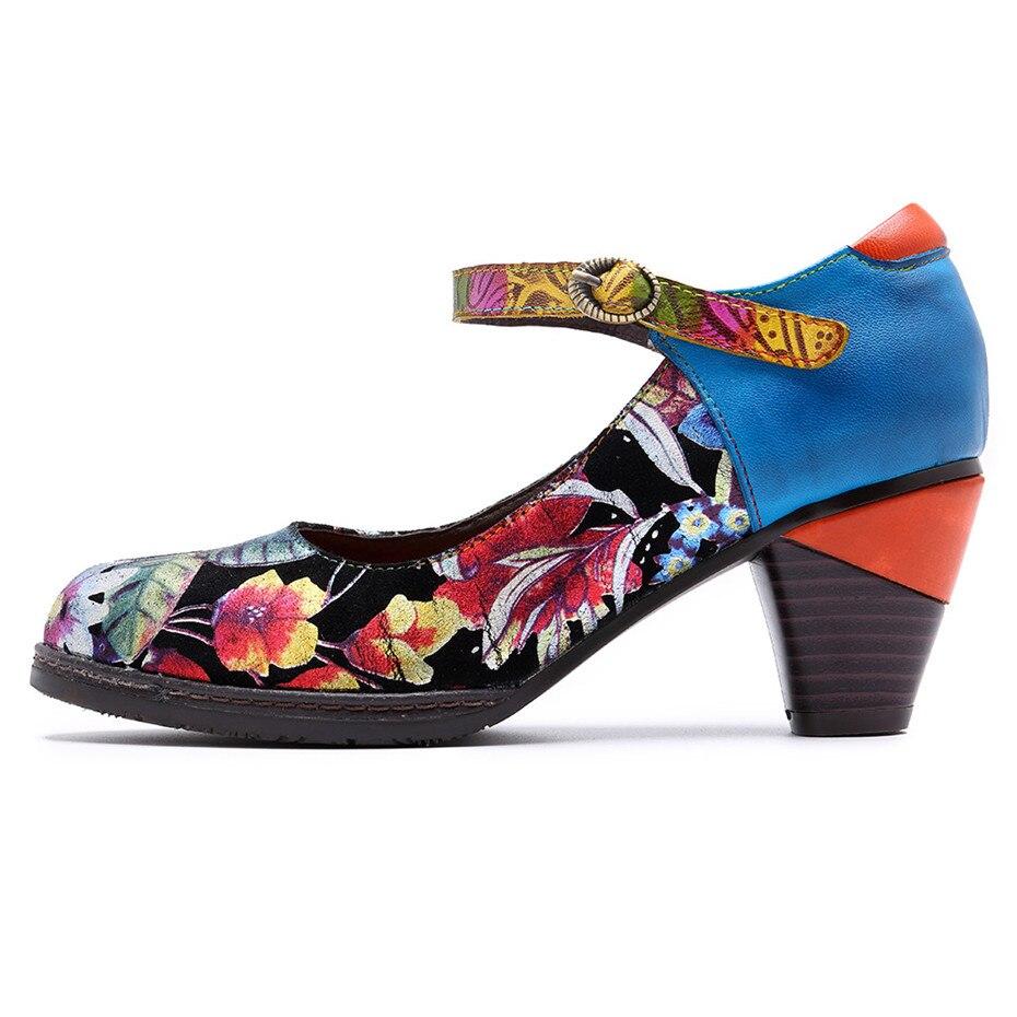 Hebilla Las q43 Mary Mujer Cuero Genuino Vintage Correa Boda Janes De r06 Primavera R05 Altos Dama Zapatos Tacones Vestido Verano La 4xl93 Mujeres 1n1p4WS