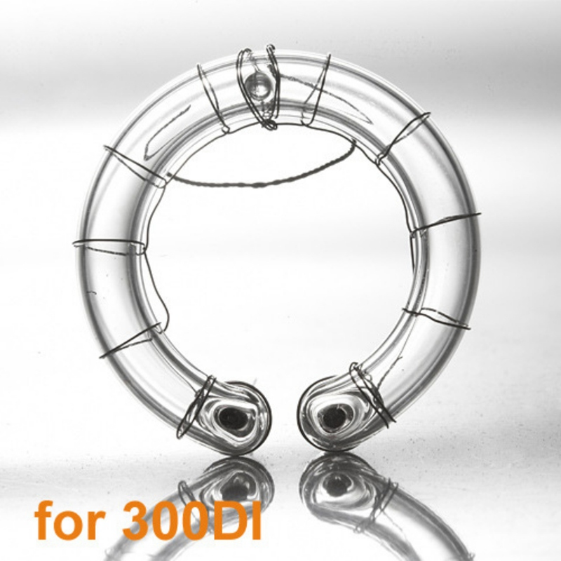300W Replacement Spare Ring Tube Flash for Studio Light Suitable for <font><b>Godox</b></font> 250SDI 300SDI 250DI 300DI E250 <font><b>E300</b></font> Flash image