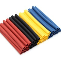 700pcs 8 Sizes Multi Color Polyolefin 2 1 Halogen Free Heat Shrink Tubing Assortment Sleeving Wrap