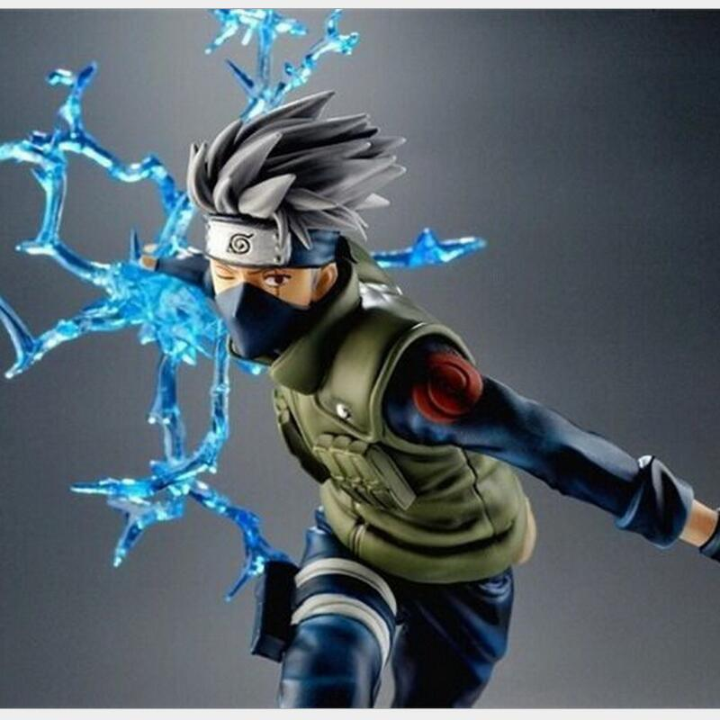 Naruto Kakashi Sasuke Action Figure Anime puppets Figure PVC Model Doll Children Baby Kids Toys original box anime naruto action figures lightning blade hatake kakashi figure pvc model 12cm collection children baby kids toys
