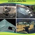 Anti-ultravioleta del coche película tinte de la ventana de control solar 1.52*30 m 2MIL car película de seguridad transparente película protectora de vidrio de seguridad claro foile