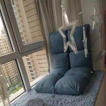 Canapé-lit pliant, Tatami, chaise rouge, simple chambre à coucher, petite chambre, pièce au-dessus du sol, balcon