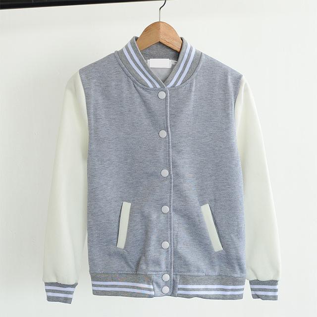 Béisbol chaqueta casacos femininos chaquetas universidad estilo Harajuku mujeres de la chaqueta de 2016 nueva Primavera de invierno Chaquetas de la capa envío gratis