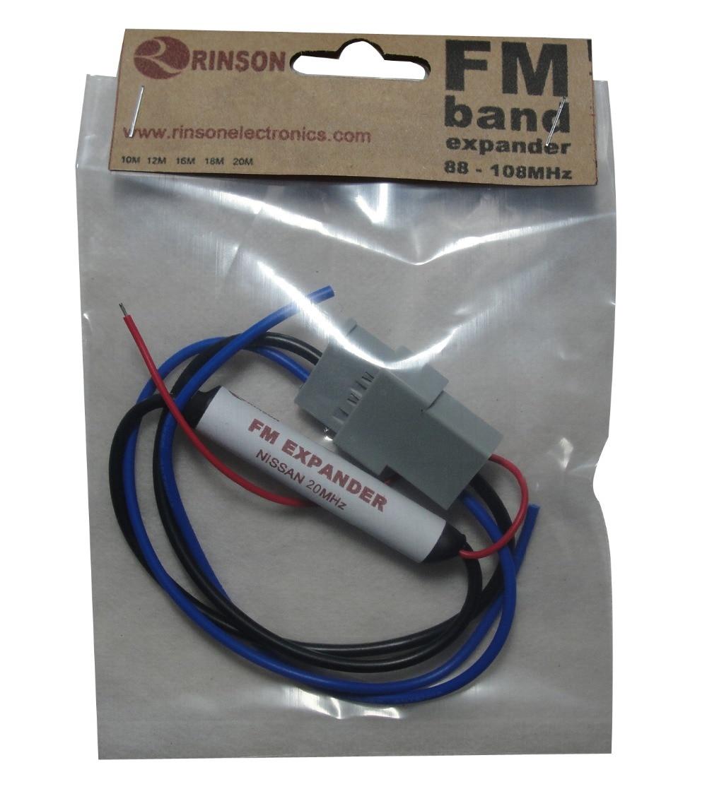 20 MHz Radio FM Bande D'extension Convertisseur Fréquence pour Nissan