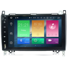 9″ HD 1024X600 Android 6.0 8 Core Car DVD Head Unit For Mercedes Benz B200 W169 A160 Viano Vito 4G WIFI GPS Navigation Radio
