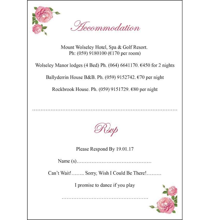 Online Buy Wholesale wedding rsvp cards from China wedding rsvp – Free Wedding Rsvp Cards