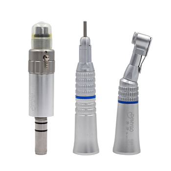Dental Slow/Low Speed Handpiece Contra Angle Straight Motor 4 Holes Dental Lab Equipment Air Turbine Oral Dentist Polishing Tool dental strong 90 micro motor 102 polishing handpiece marathon dental polishing equipment