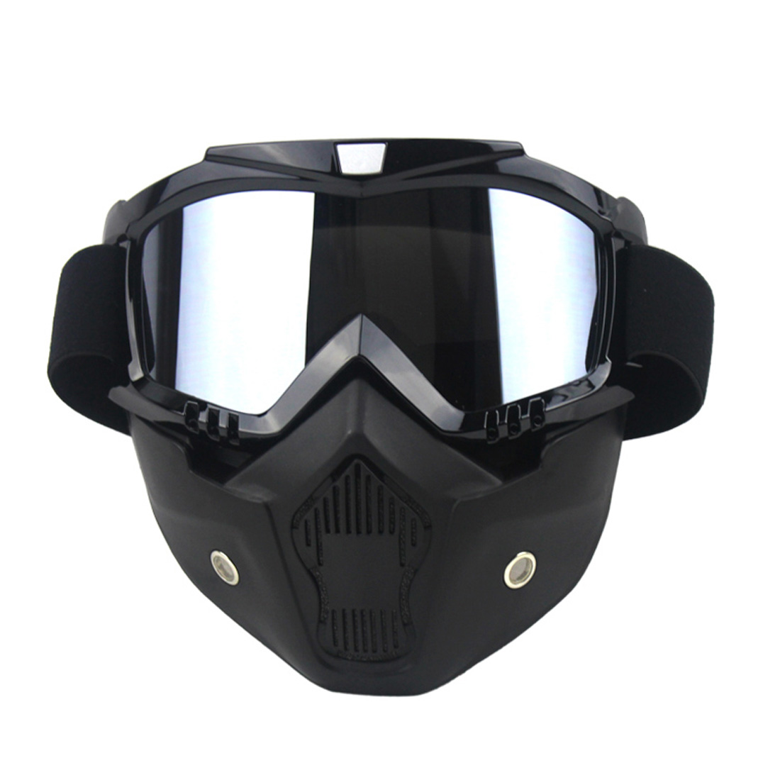 CAR-partment Ski Bike Motorcycle Face Mask Goggles Motocross Motorbike Motor Open Face Detachable Goggle Helmets Vintage Glasses