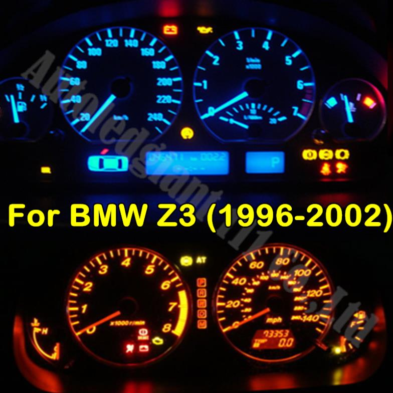 7colors t5 led light instrument light dashboard gauge led bulb for bmw z3 1996 2002 e36 white green yellow blue red blue bmw z3 1996 3 bmw