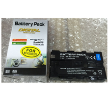 NP-F550 NP-F570 For LED Flash light batteries NP-F770 NP-F750 Digital camera lithium battery For Sony NP-F550 NP-F570 NP-F770