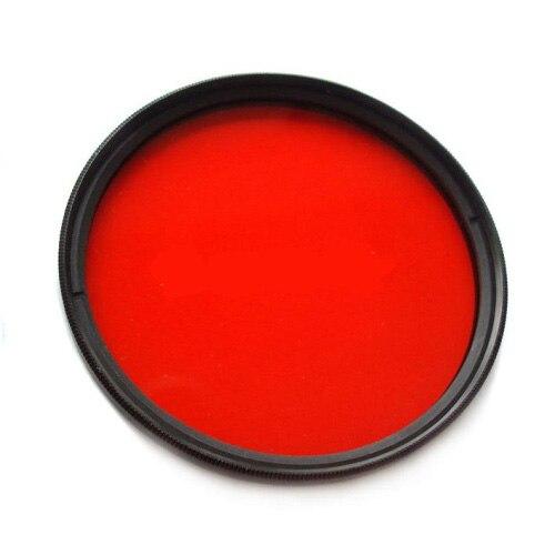 67mm Plein Rouge Couleur Filtre pour meikon étanche logement tels que S110 G15 G16 G1X NEX-5N RX100 GM1