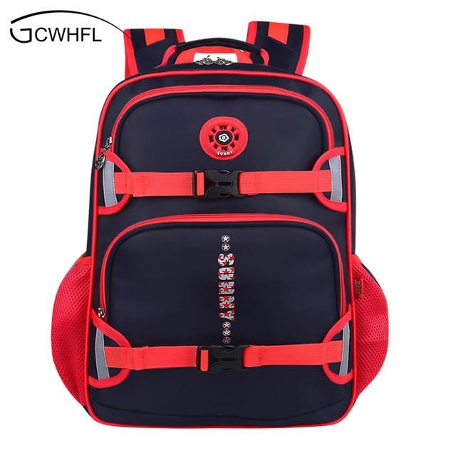 New Fashion High Quality Nylon Children School Bags Boys Backpacks ...