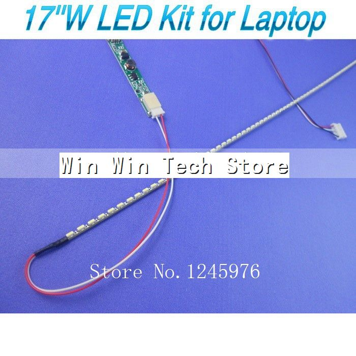 2PCs Backlight CCFL Lamps 375mm*2.0 cable for 17 Inch Wide Laptop LCD NEW