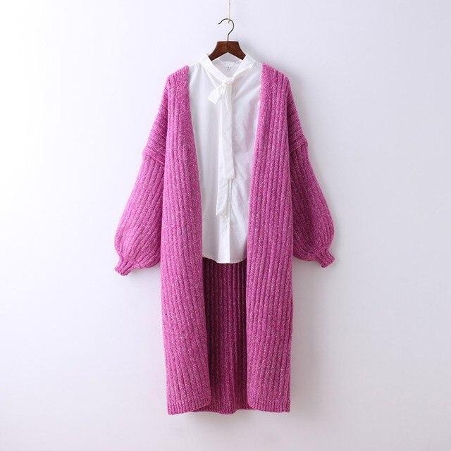 Roze Gebreide Trui.Winter Dikke Warm Womens Vest Zoete Roze Gebreide Trui Voor Vrouwen