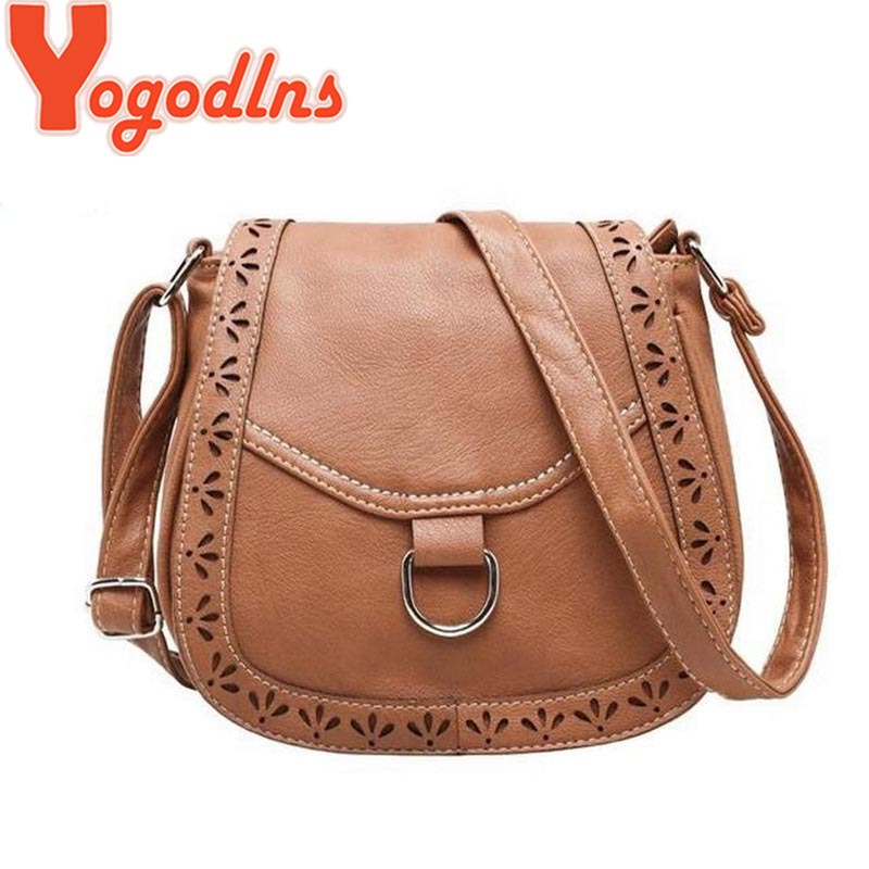 2017 hot new arrival cutout women vintage bag postman purses shoulder bags women hollow crossbody  designer bags