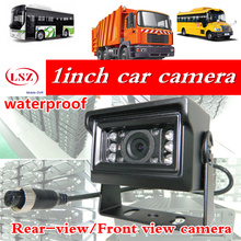 LSZ HD CCD Car Rear View Camera Reverse backup Camera rearview parking 120 Degree Nightvision Waterproof Bus Truck Camera