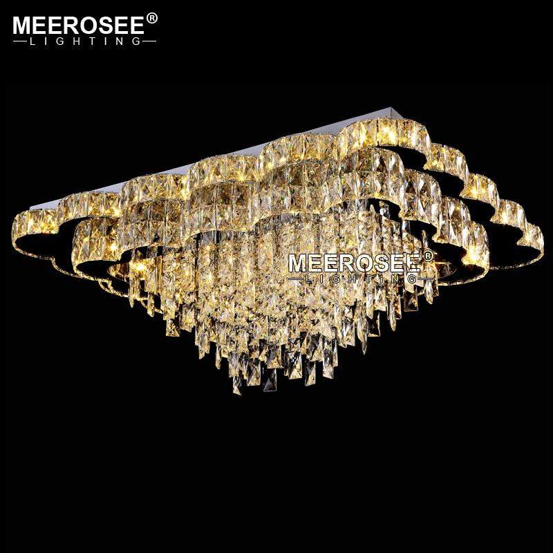 New Arrival Luxury Chandelier Modern LED Chandelier Living Room Light Luxury Crystal Lamp Lustres Lighting for Hotel Restaurant