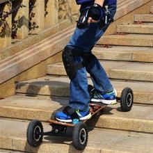 Electric Skateboard with two Hub Motors 1650W*2 Max 11000mAh