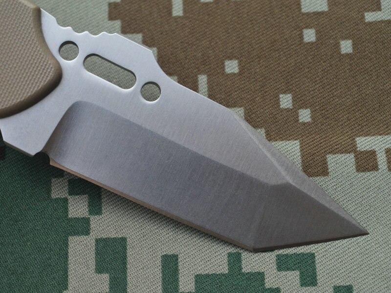 TRSKT INFINER KAT Pocket Vaste Mes Camping Tool Survival Outdoor Messen DC53 Staal G10 Handvat Met Kydex Schede Freeship - 4
