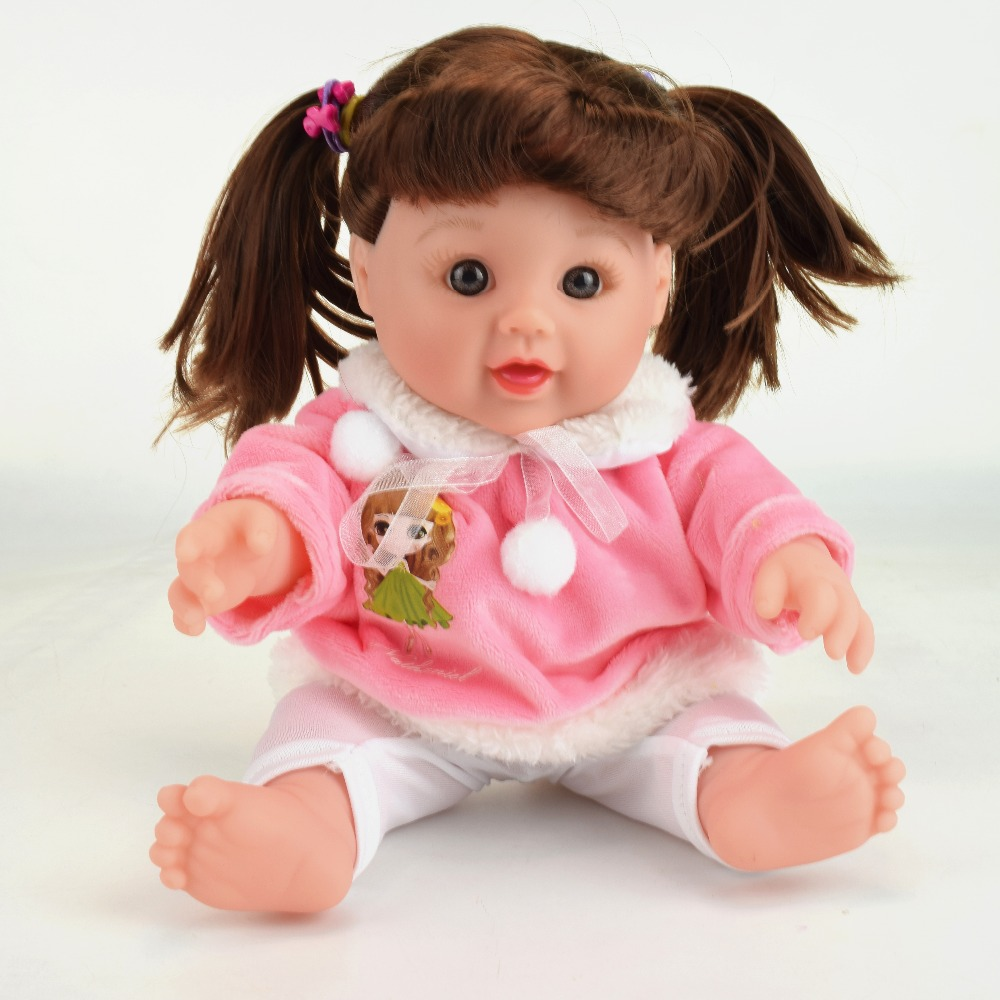 12inch Doll Reborn Baby Dolls For Boy Doll Baby Born bonea For Kids Gift Realistic Silicone newborn Soft Toy Baby boy NATHINEIL