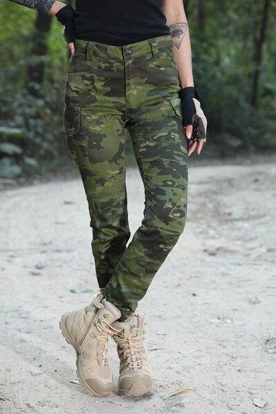 Новинка года мультикам засушливых камуфляж женщина Тактический длинные штаны MCA женщина Тактический Штаны 65/35 p/c узкие Штаны камуфляж девушку Штаны - Цвет: MTP