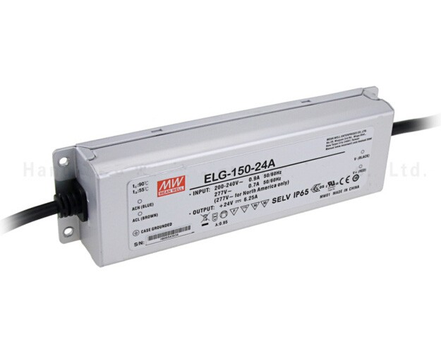 Original MEAN WELL 150W Single Output IP67 Constant Current /Voltage LED Driver Switching Power Supply With PFC ELG-150 original meanwell led driver apc 16 700 16 8w 9 24v 700ma led power supply constant current mean well apc 16 ip42