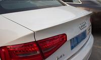 ABS Plastic Unpainted Tail Wing Primer Color Rear Spoiler For Audi A4 B8 B9 Spoiler 2009 2010 2011 2012 2013 2014 2015 2016