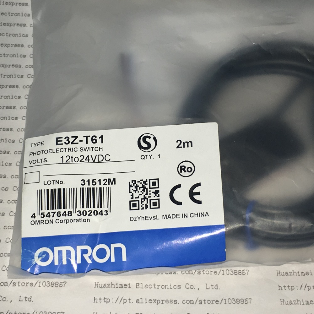 Photoelectric Switch E3Z-T61 E3Z new and original e3z ll86 e3z ls86 omron photoelectric switch 12 24vdc
