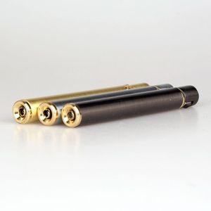 Image 5 - Mechero compacto de Metal de butano con forma de cigarrillo, mechero de Gas inflable, sin Gas, novedad, 2018