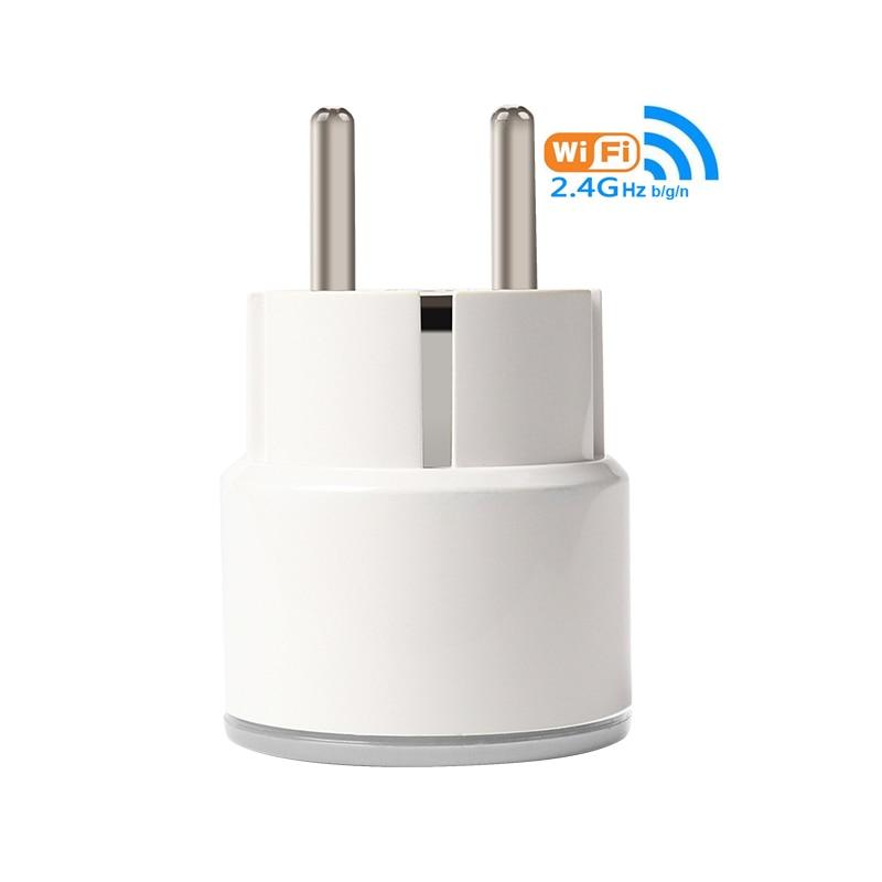 NEO Wireless WiFi Smart Plug EU Plug Home Power Control Socket Outlet  Remote Control Support Amazon Alexa TuYAsmart