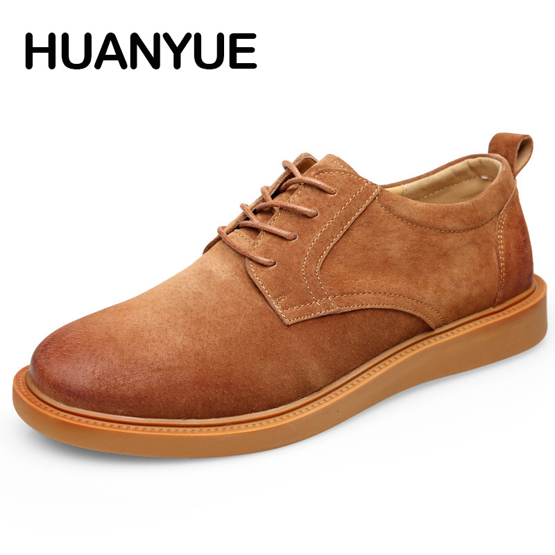 New 2018 Men Casual Shoes Leather Spring/Summer Men Shoes High Quality Flat Shoes For Men Zapatos Hombres Hot Sale Mens Shoes couples high help shoes men s 2018 new trend shoes personality rivets casual shoes gold board shoes mens flat shoes 35 44