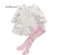 E Bainel Baby Girl Clothing 0 12M Spring Autumn Baby Girl Dress Floral One Piece Baby