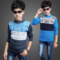 2016 Autumn Baby Boys Sweater Children Clothing Casual Big Boys Sweaters Kids O-Neck Pullover Baby Clothes Boys Top Outerwear