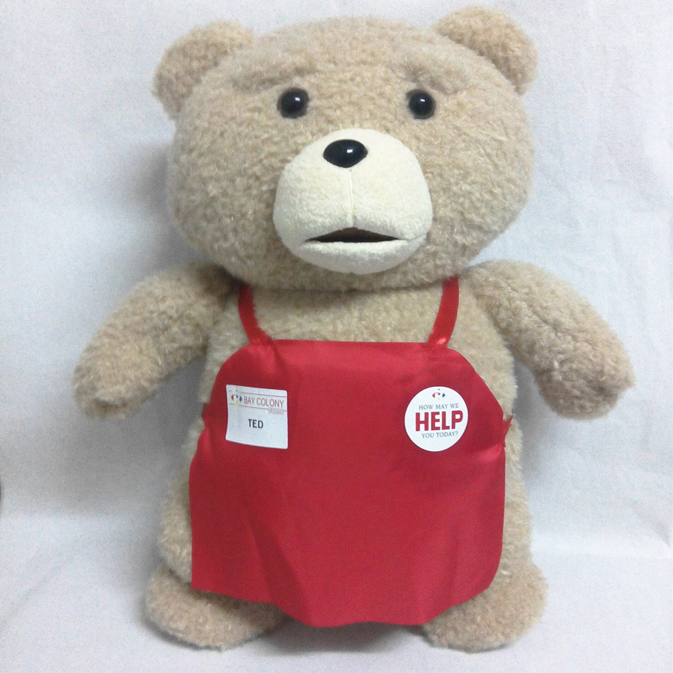 45 cm Teddy Bear Stuffed Plush Animals Ted Plush Soft Doll Baby Birthday Gift Kids Toys