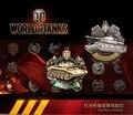 2016 Мода Онлайн-Игры World of Tanks WOT Металлический Брелок думитру's Николь's Медаль Брелок Для Мужчин Кольцо Для Ключей Брелок подарок